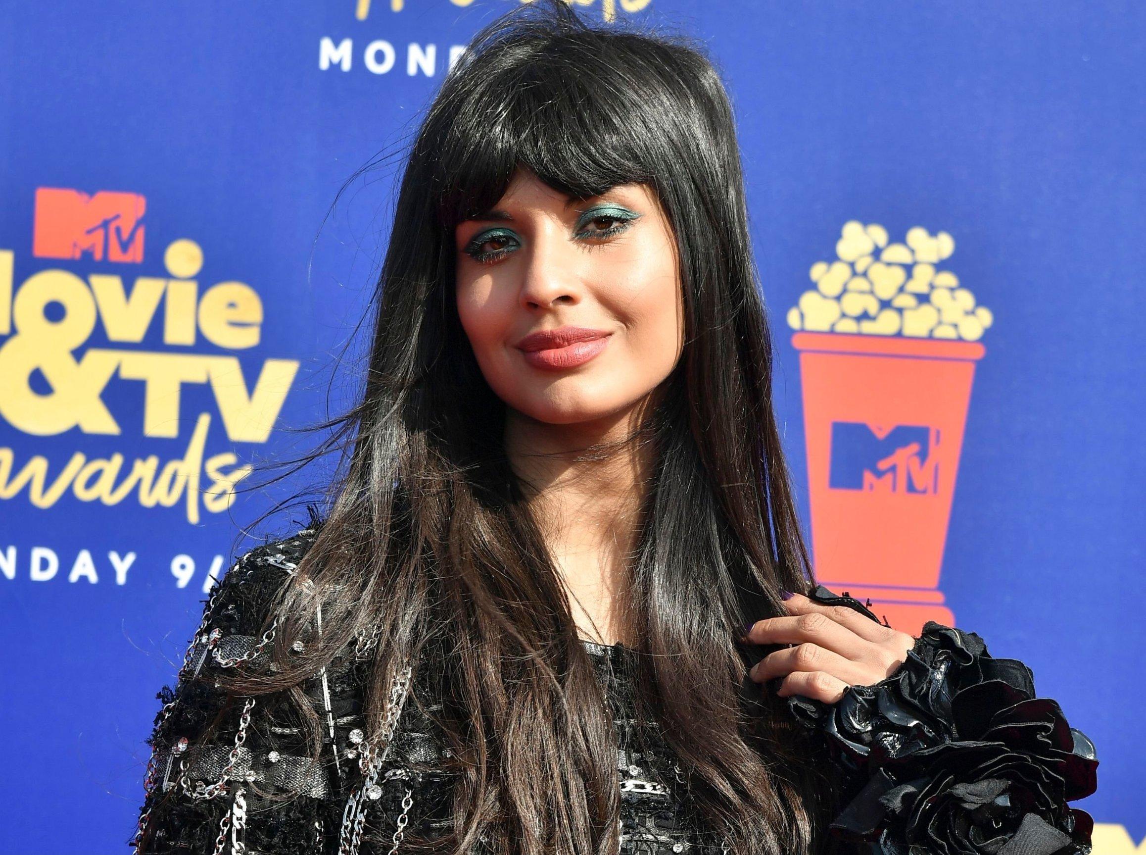 Jameela Jamil MTV Movie & TV Awards, Arrivals, Barker Hangar, Los Angeles, USA - 15 Jun 2019, Image: 448071361, License: Rights-managed, Restrictions: , Model Release: no, Credit line: Profimedia, Shutterstock Editorial