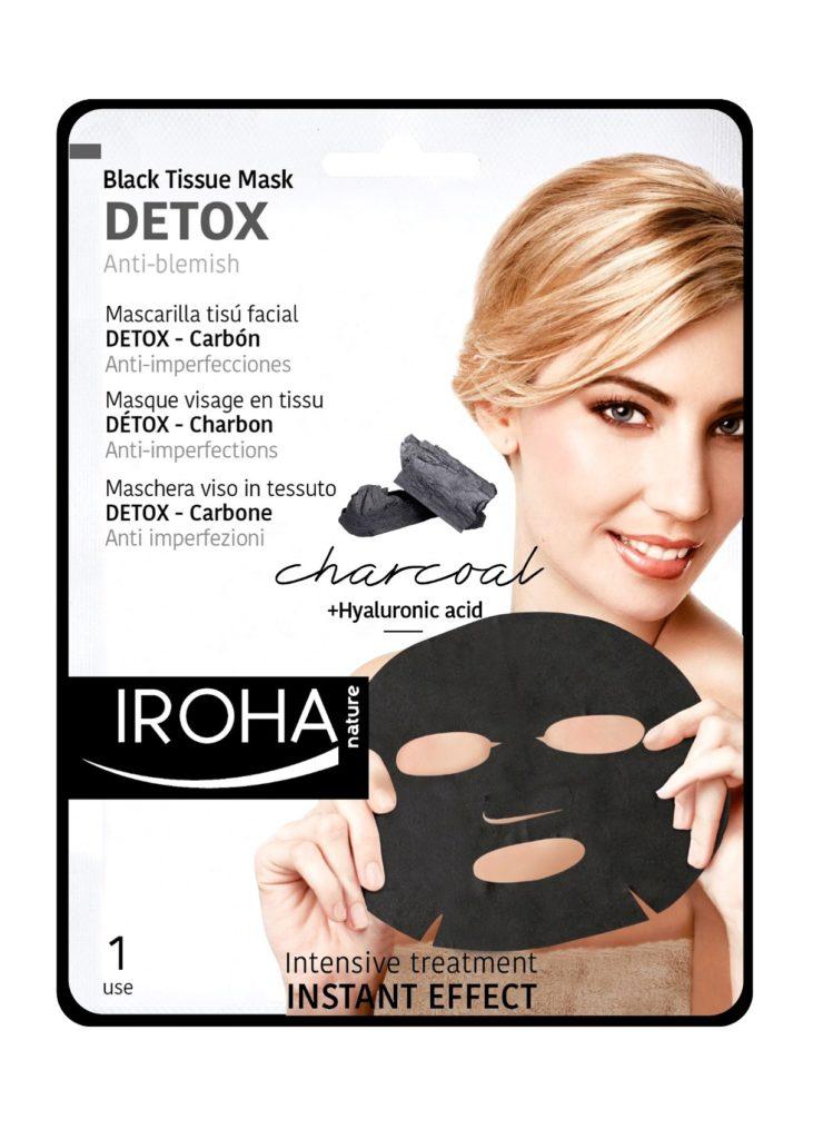 Iroha Nature detox maska s aktivnim ugljenom, 35,90 kuna