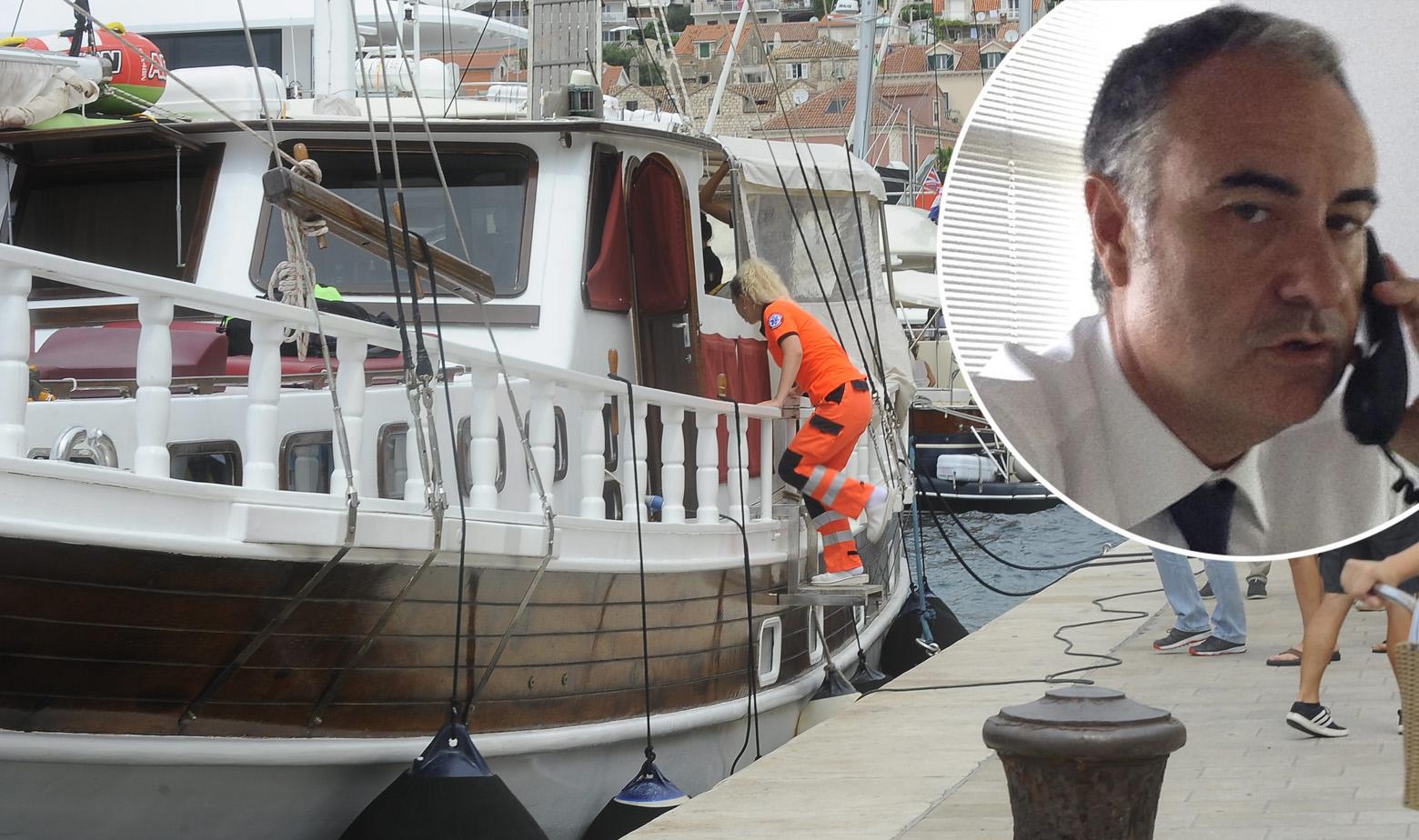 Brod Atlantia i Eugenio Vinci u krugu