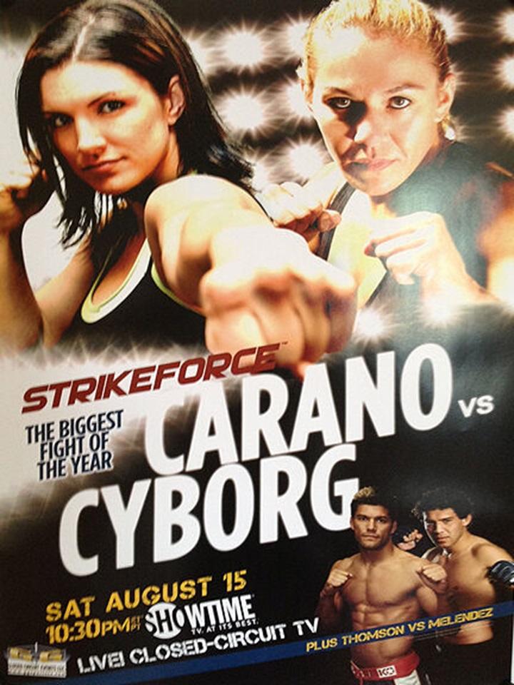 Carano vs. Cyborg