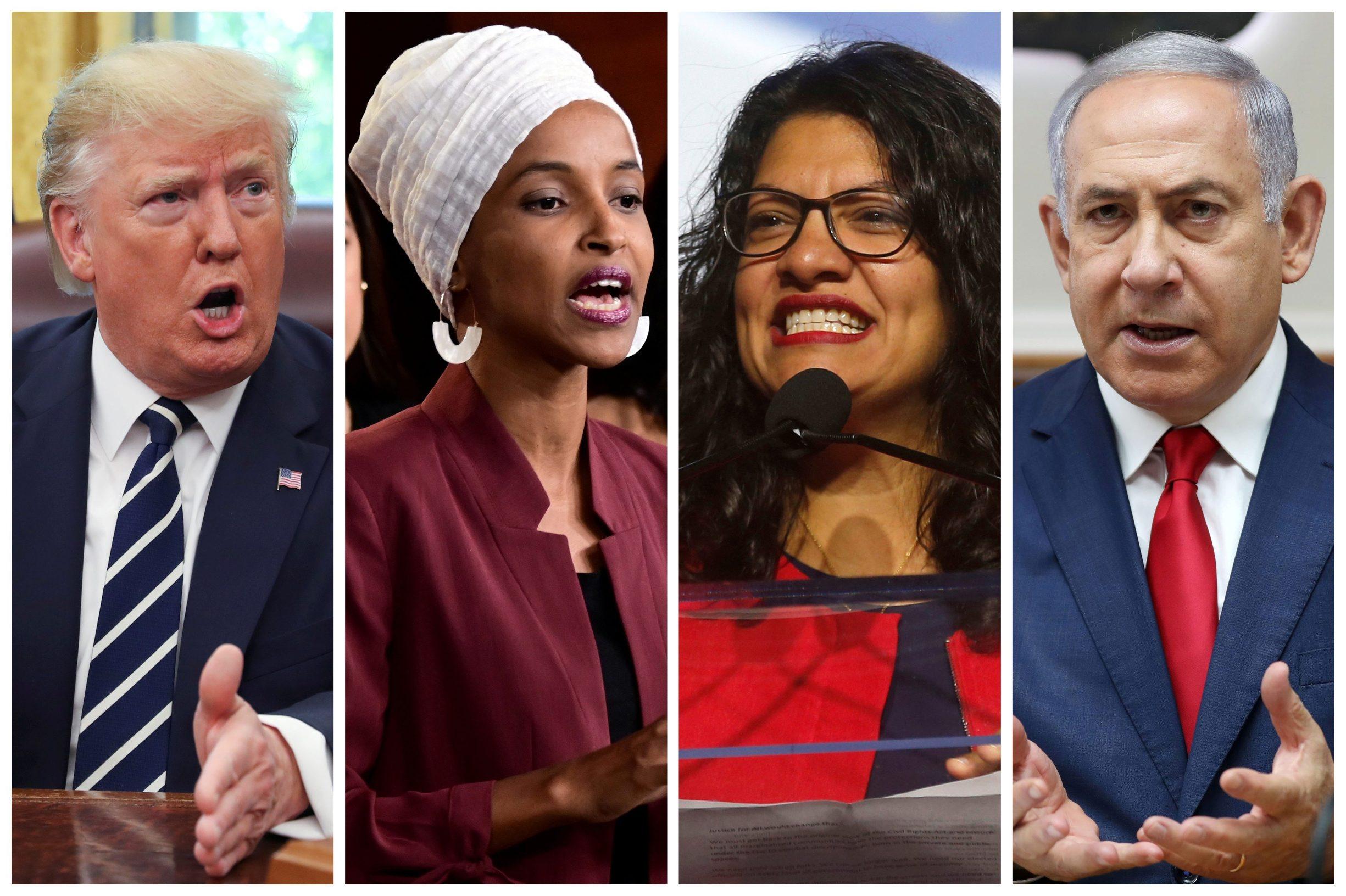 Ilhan Omar, Rashida Tlaib i Benjamin Netanyahu