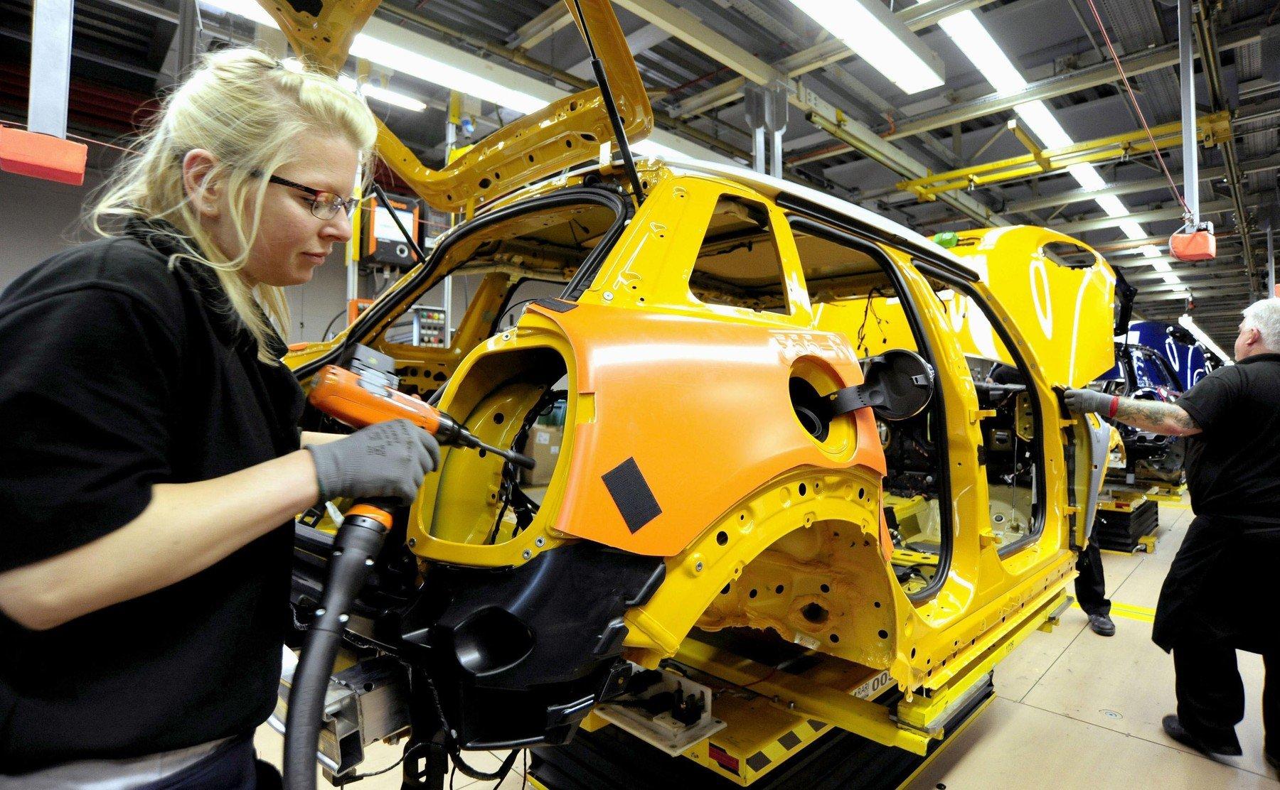 Ilustracija, pogon BMW-a