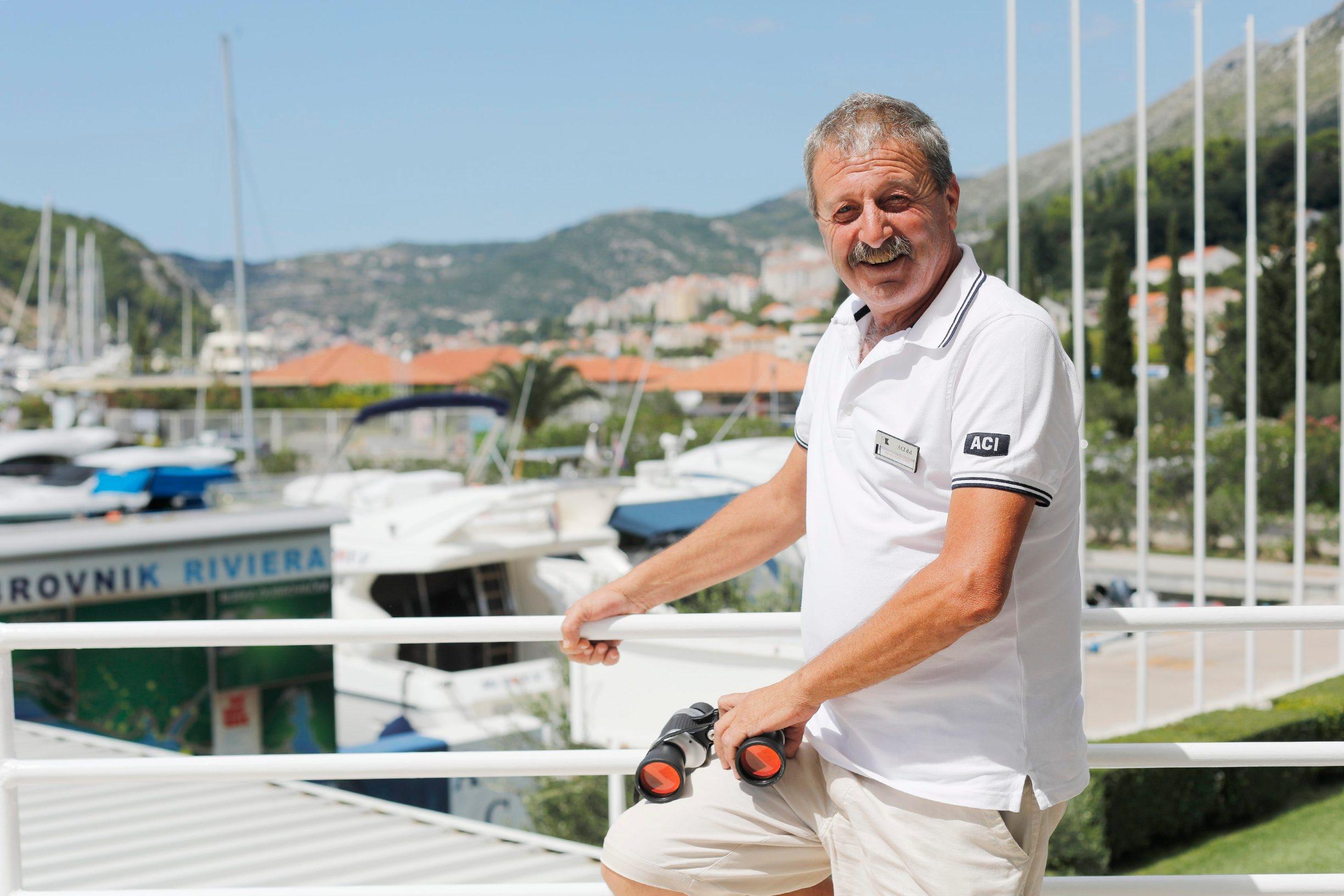 Roko Belemečić - šef mornara ACI marine Dubrovnik