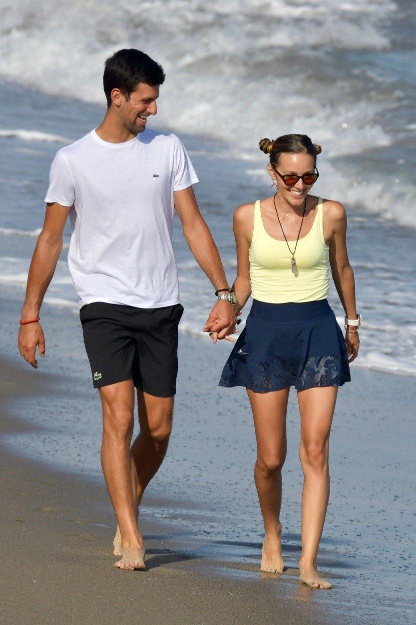 Novak Đoković sa suprugom na odmoru u Španjolskoj