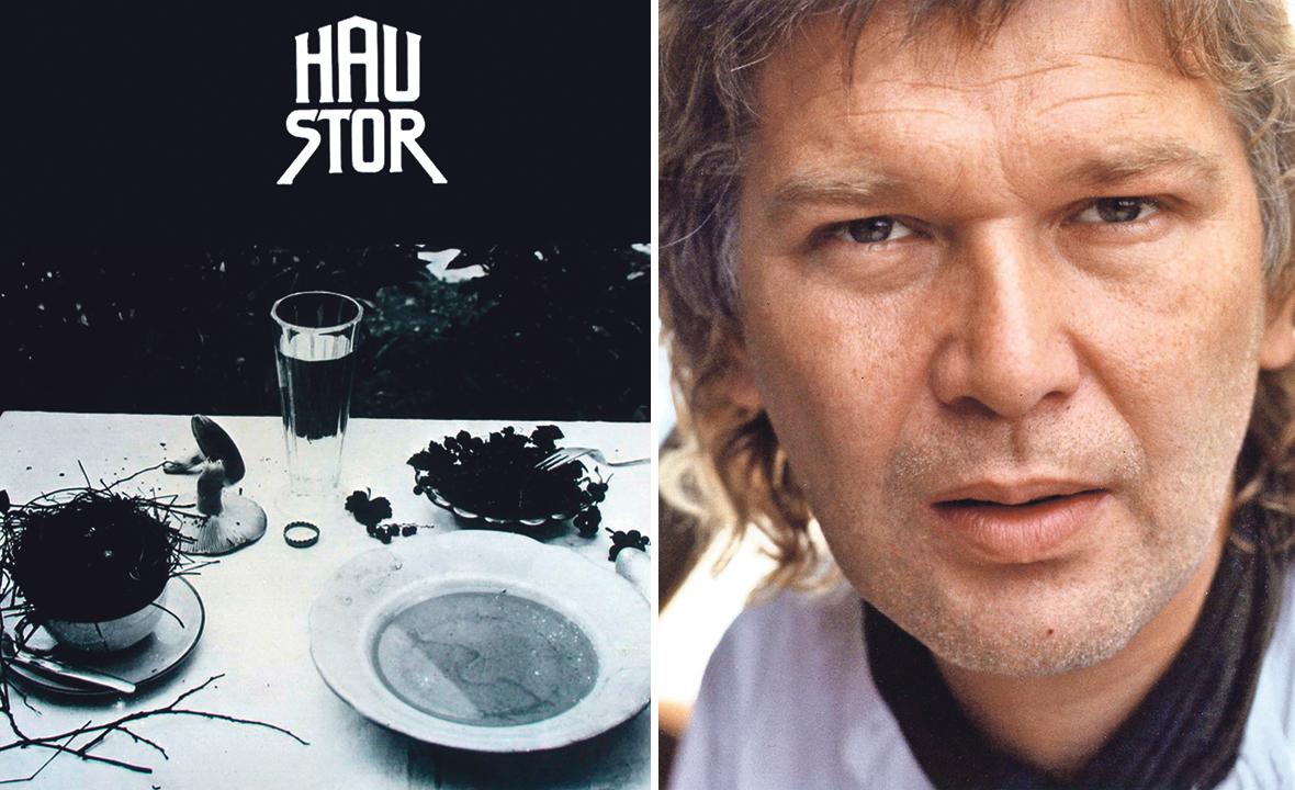 Naslovnica albuma grupe Haustor (lijevo), Mile Klarica (desno)