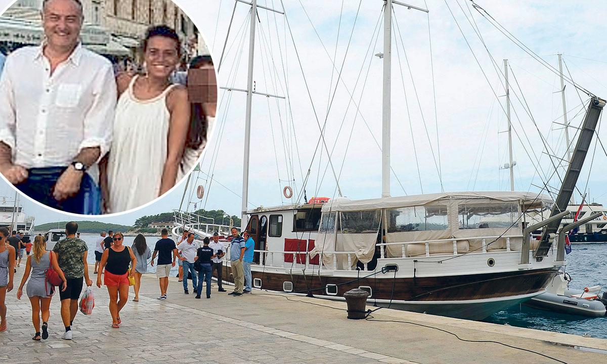 u krugu: preminuli poduzetnik Eugenio Vinci i njegova supruga Manuela Fiasconaro