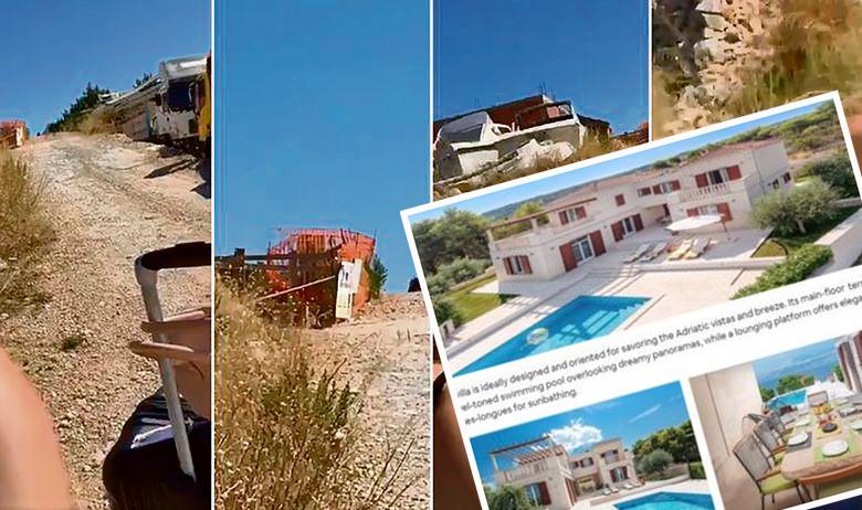 Prizori koje su na Hvaru dočekali Francuske turiste koji su mislili da su iznajmili vilu koja se može vidjeti u umetku u donjem desnom kutu