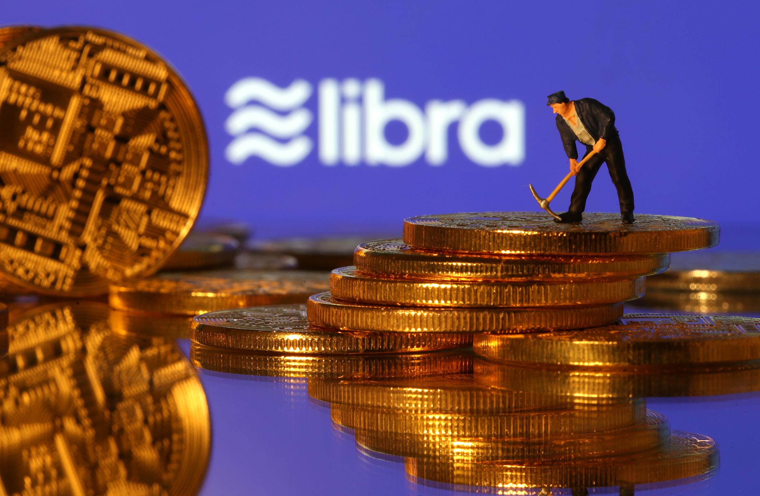 Ilustracija, Libra kriptovalute