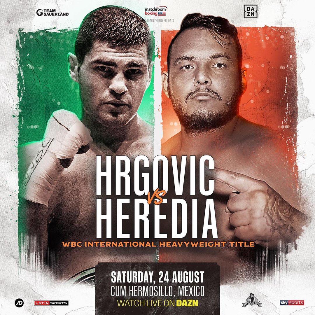 Filip Hrgović vs. Mario Heredia