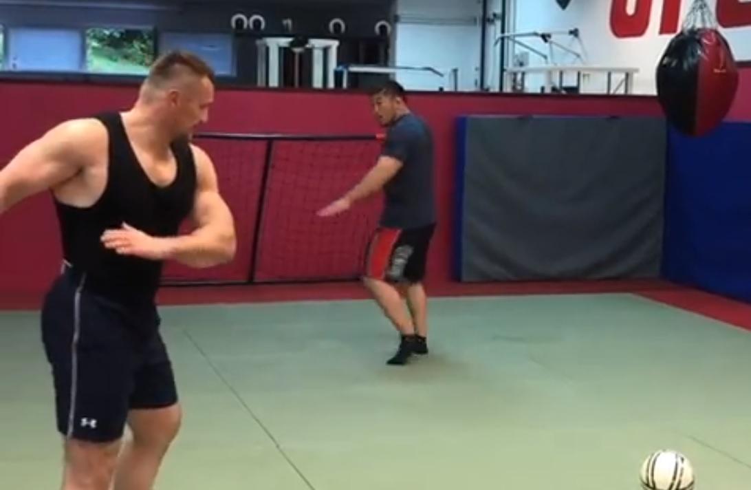 Mirko Filipović i Satoshi Ishii