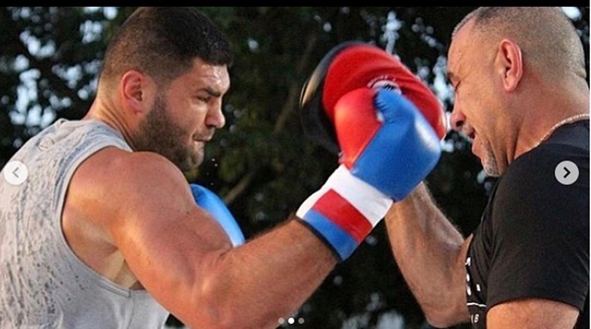 Filip Hrgović i Pedro Diaz