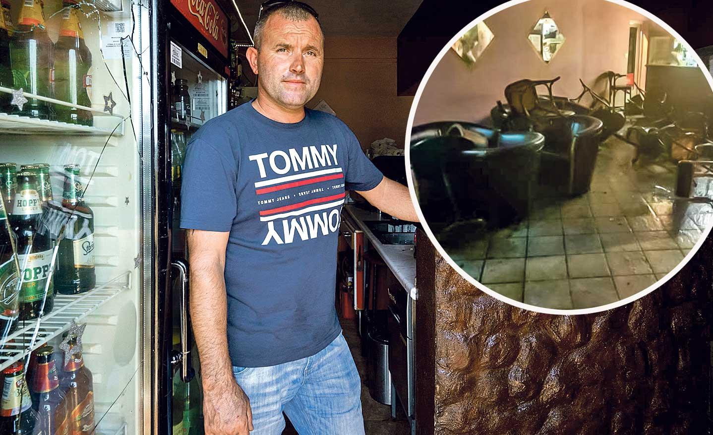 vlasnik kafića Boris Petko
