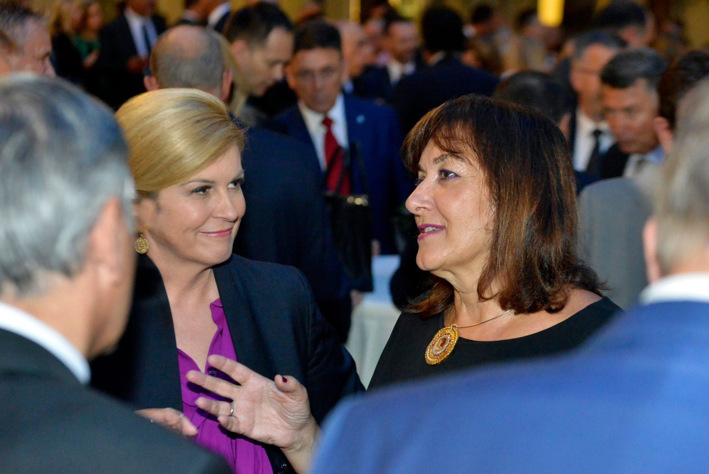 Kolinda Grabar-Kitarović i Dubravka Šuica