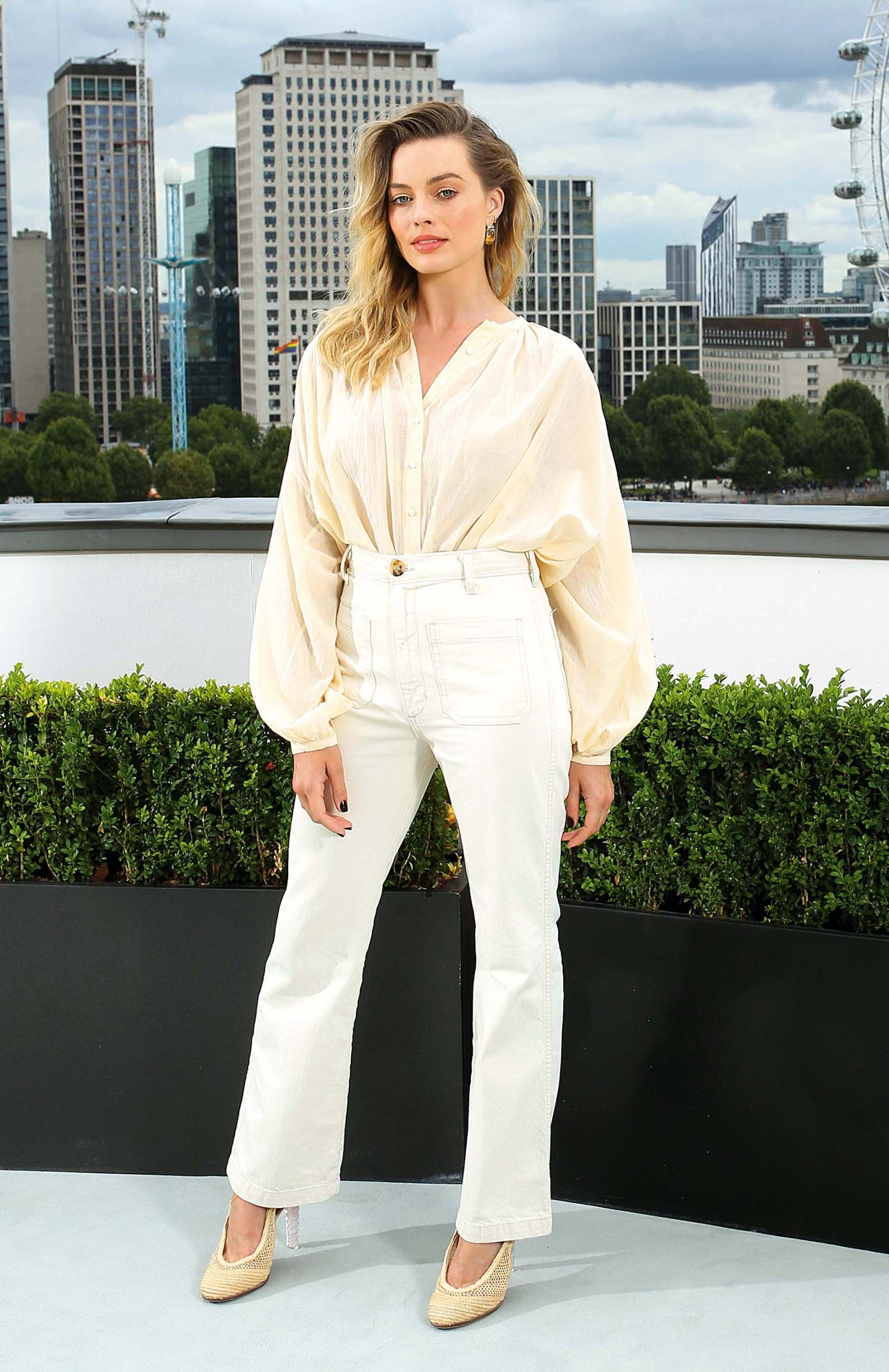 Margot Robbie attending a photocall for Once Upon A Time... In Hollywood, held at the Corinthia Hotel, London., Image: 461624277, License: Rights-managed, Restrictions: , Model Release: no, Credit line: Profimedia, Press Association