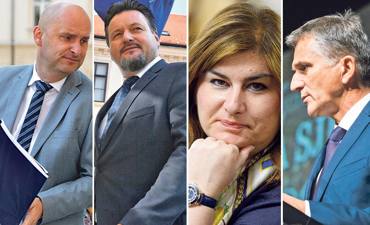 Tomislav Tolušić, Lovro Kuščević, Gabrijela Žalac i Goran Marić