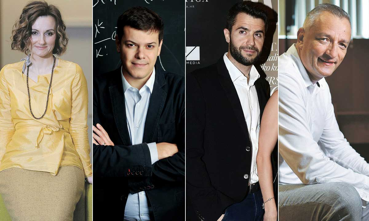 Diana Kobas Dešković, Vuk Vuković, Boris Filipović, Dino Dogan