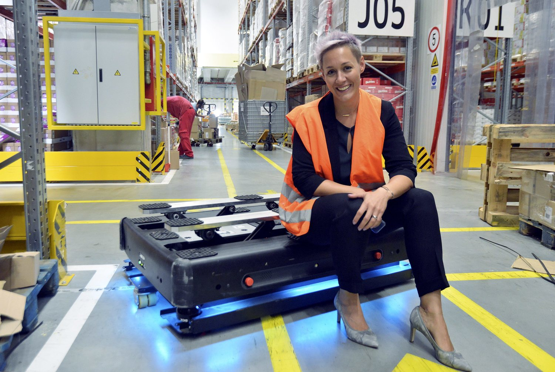 Darija Pizent, direktorica Upravljanja lancem opskrbe u skladištu Atlantic Grupe