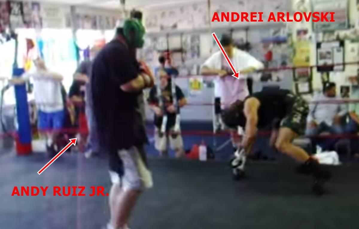 Ruiz vs. Arlovski - sparing
