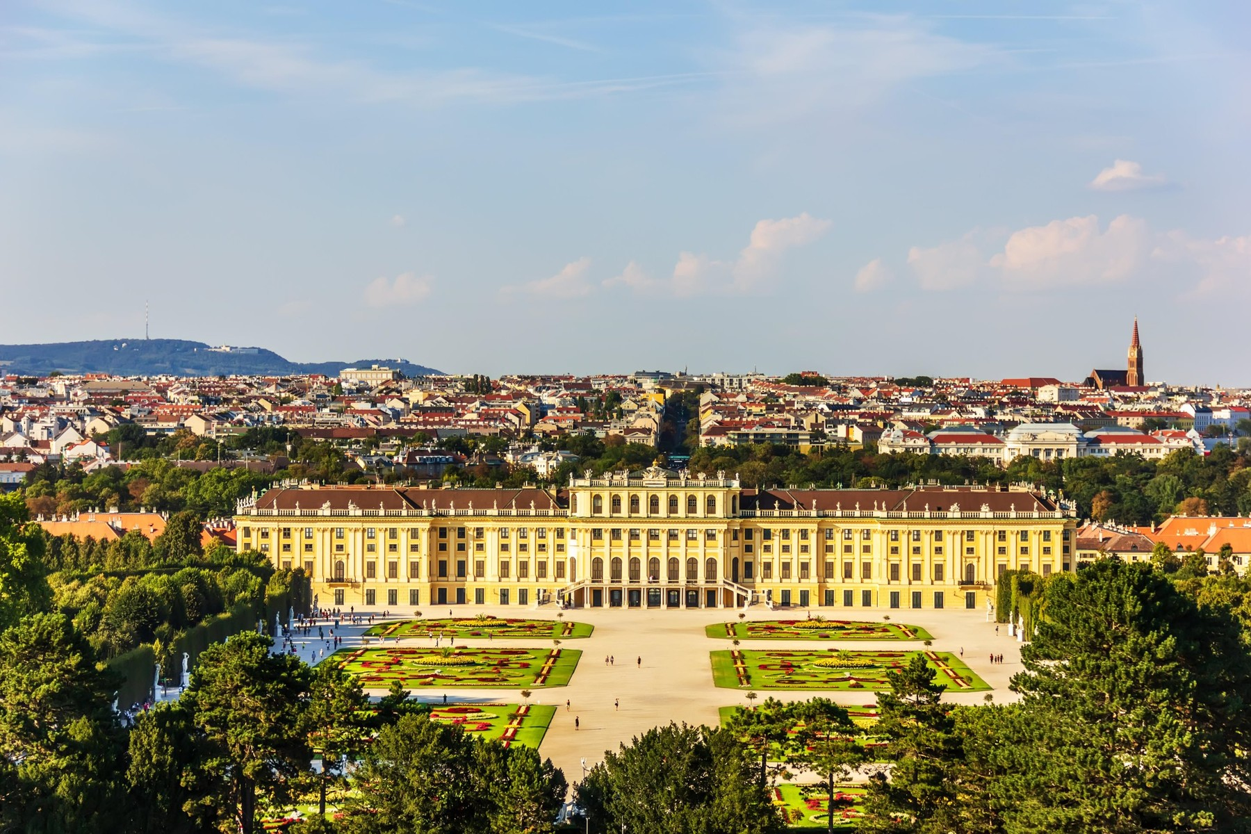 Schonbrunn, Beč