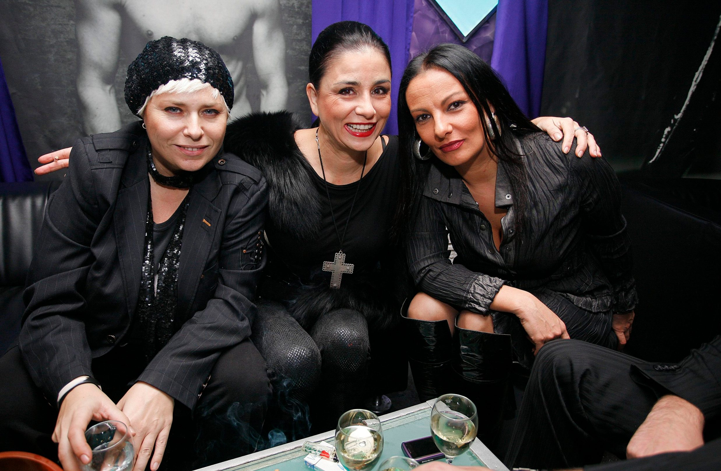 Sandra Jurak, Alka Vuica i Mirna Berend 2008.