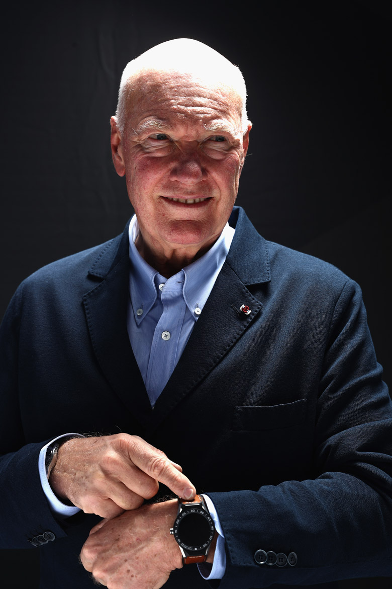 BRUNNEN, SWITZERLAND - MARCH 14:  Jean-Claude Biver, CEO of TAG Heuer and President of the LVMH Watch Division poses after press conference during the international launch of the TAG Heuer Connected Modular 45 Swiss Made on March 14, 2017 in Brunnen, Switzerland.  (Photo by Alexander Hassenstein/Getty Images For TAG Heuer)