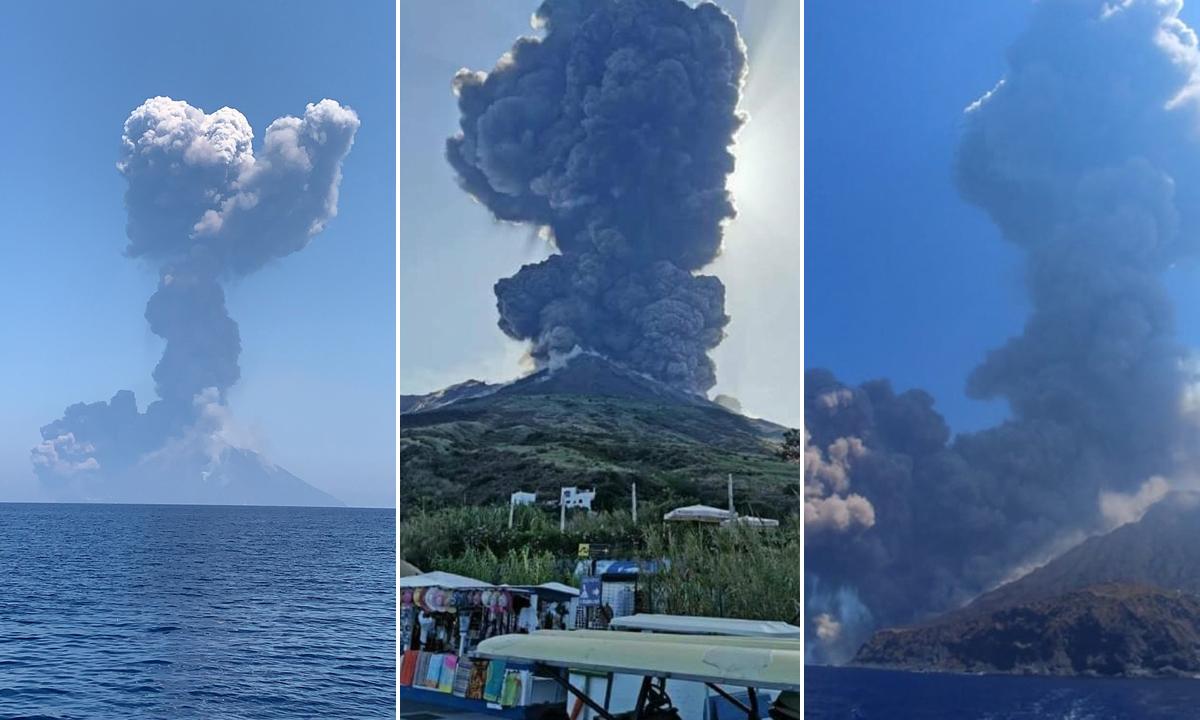 vulkan-Stromboli