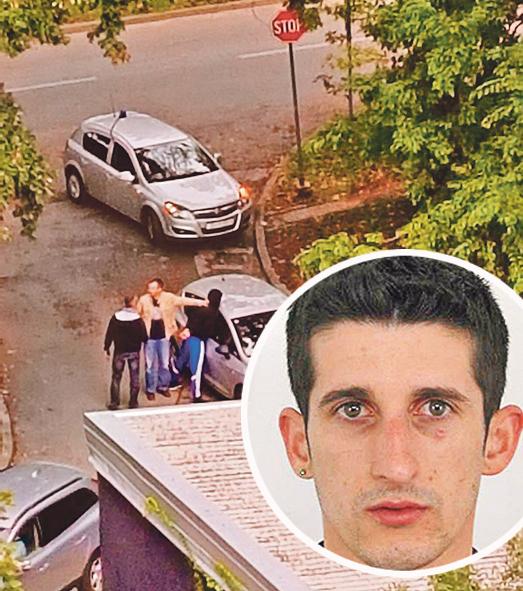Uhićenje pljačkaša; Krug: Slobodan Čabrilo