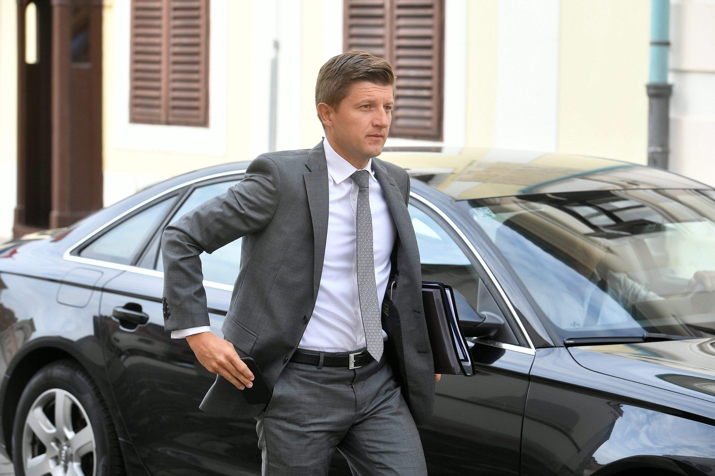 Deputy prime minister and minister of finance Zdravko Marić
