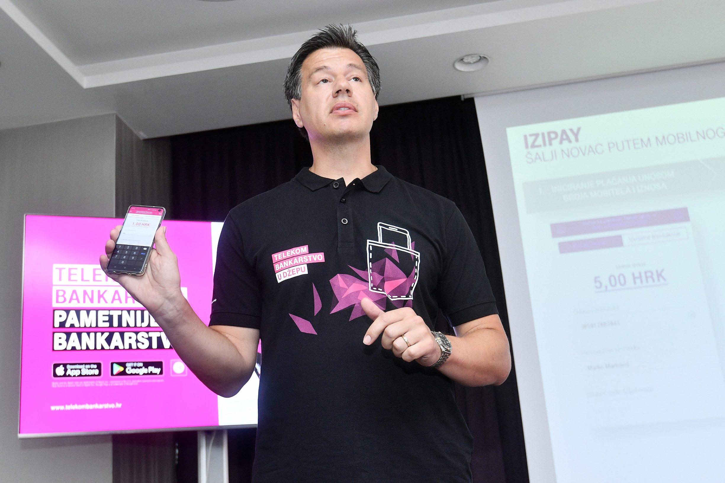 Goran Lončarić, direktor projekta Telekom Bankarstva u Hrvatskom Telekomu