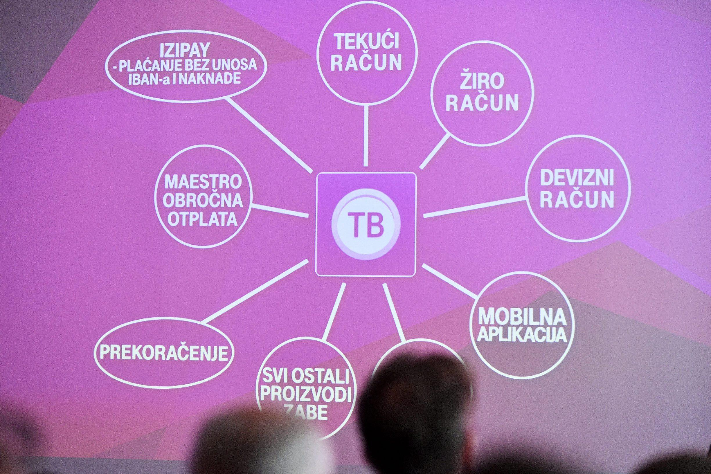 Zagreb, 280819. Predstavljanje usluge Telekom Bankarstvo koja je osmisljena od strane Hrvatskog Telekoma i Zagrebacke banke, u hotelu Double Tree by Hilton. Foto: Boris Kovacev / CROPIX