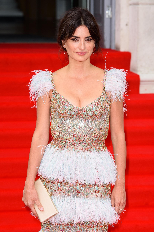 LONDON, ENGLAND - AUGUST 08: Penelope Cruz attends the