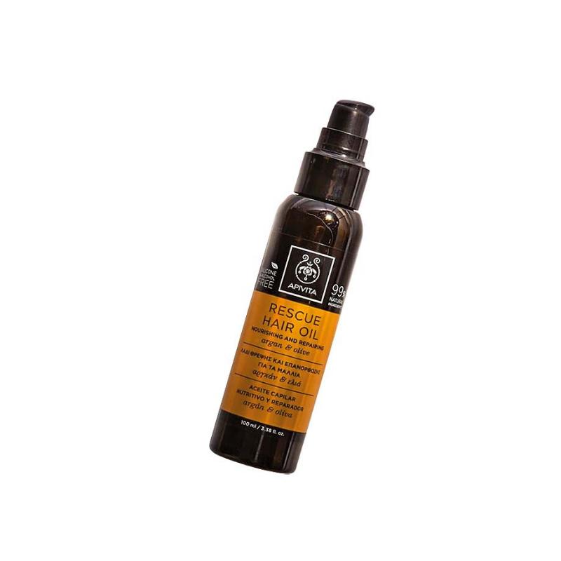 APIVITA Rescue obnavljajuće ulje za kosu s arganom i maslinom, 229,90 kn