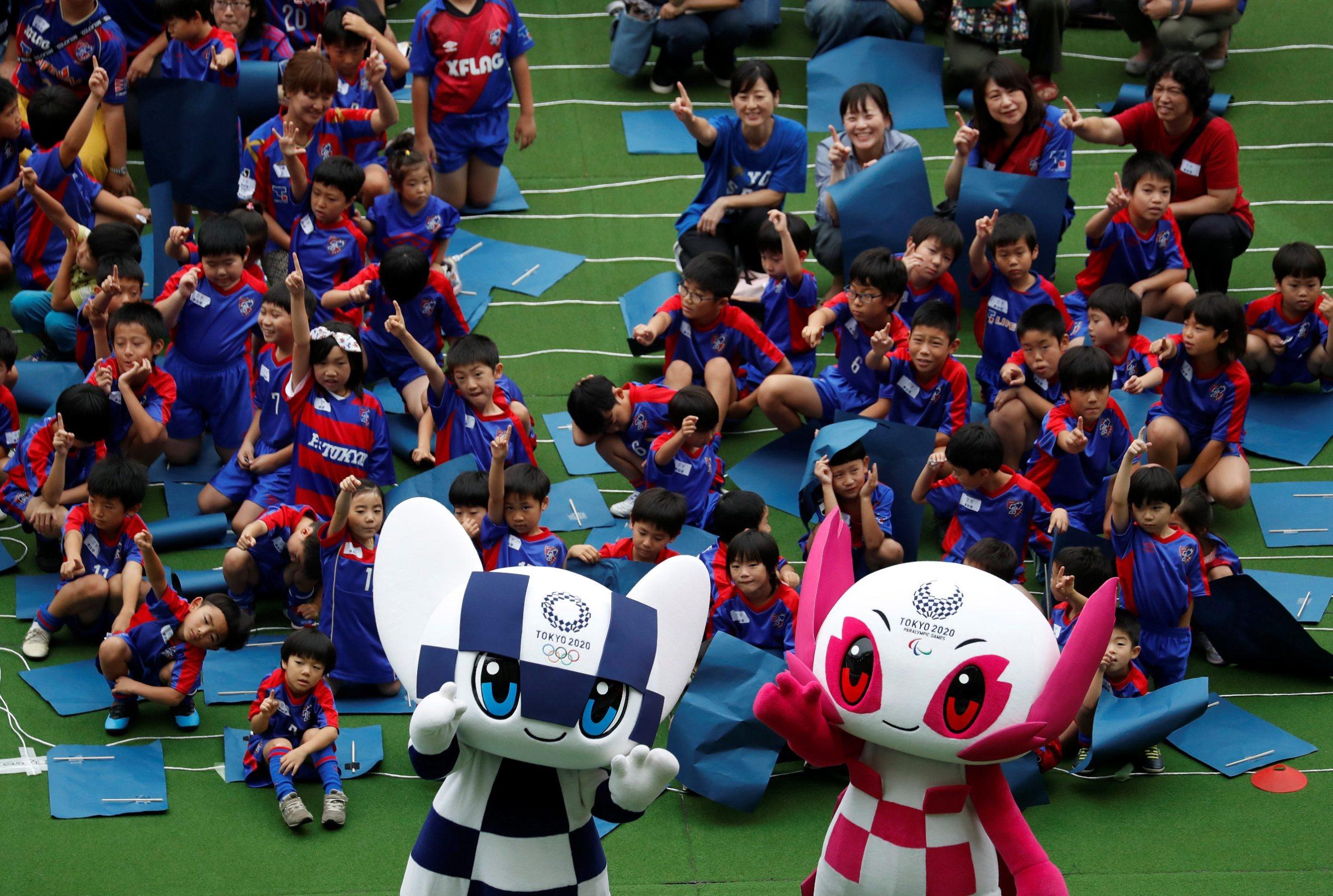 Predstavljanje maskota Olimpijade u Tokiju: Roboti Miratowa i Someity