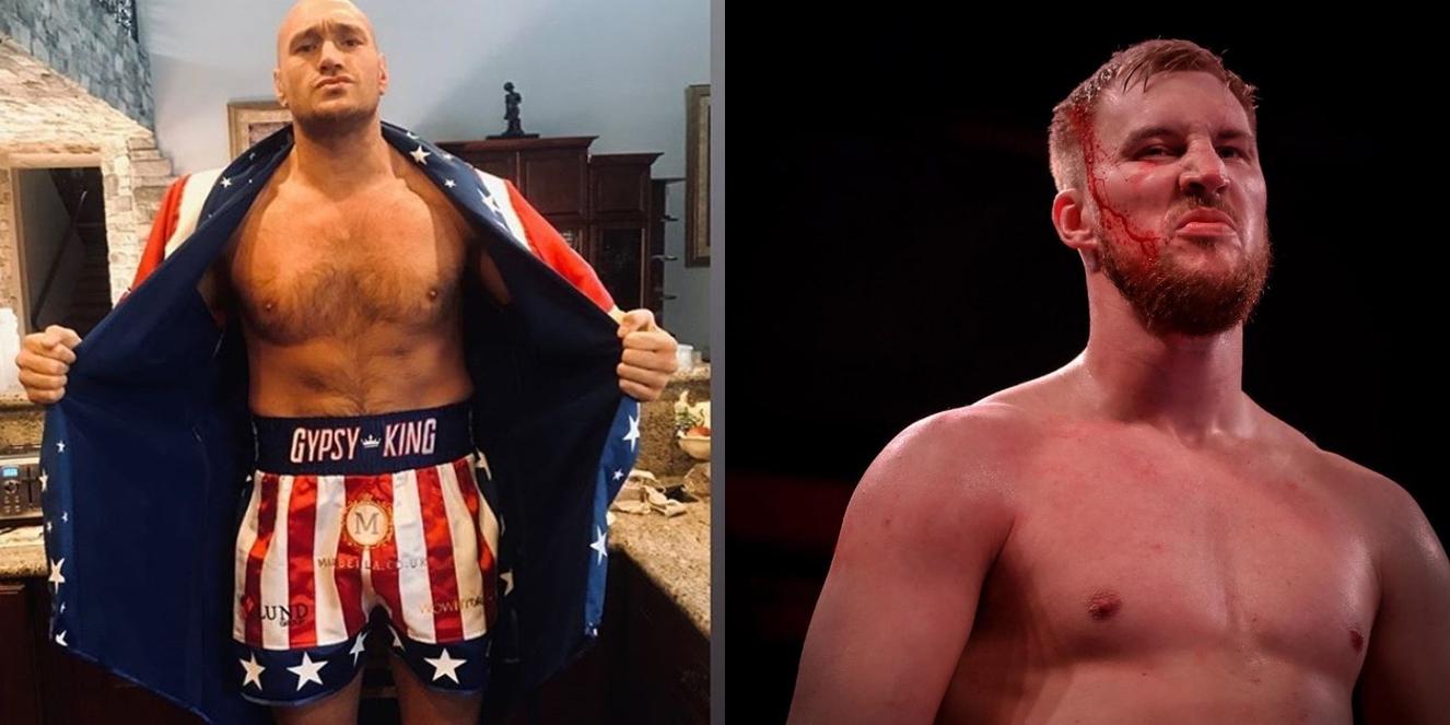 Tyson Fury i Otto Wallin