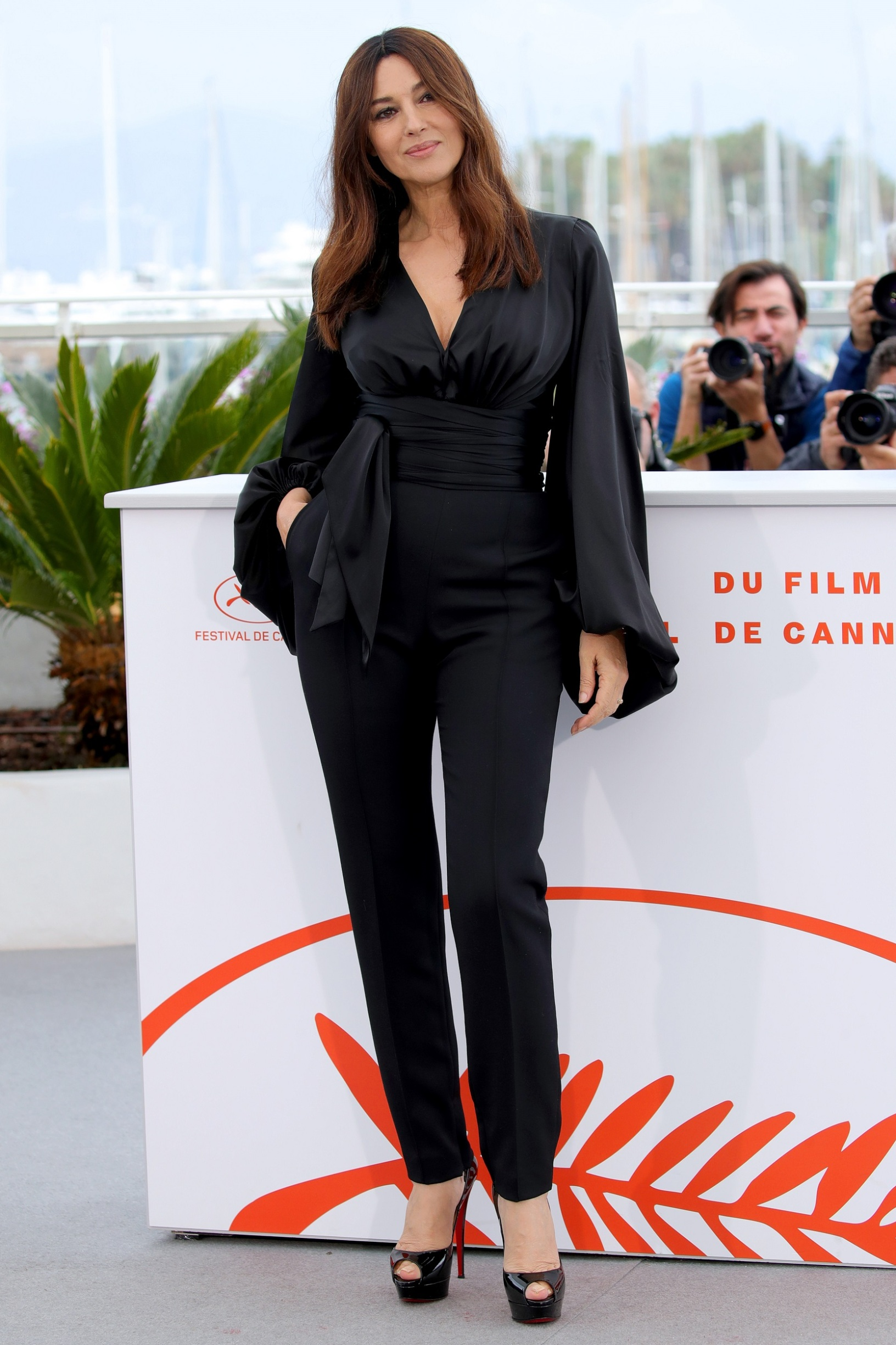 CANNES, FRANCE - MAY 19: Monica Bellucci attends the photocall for