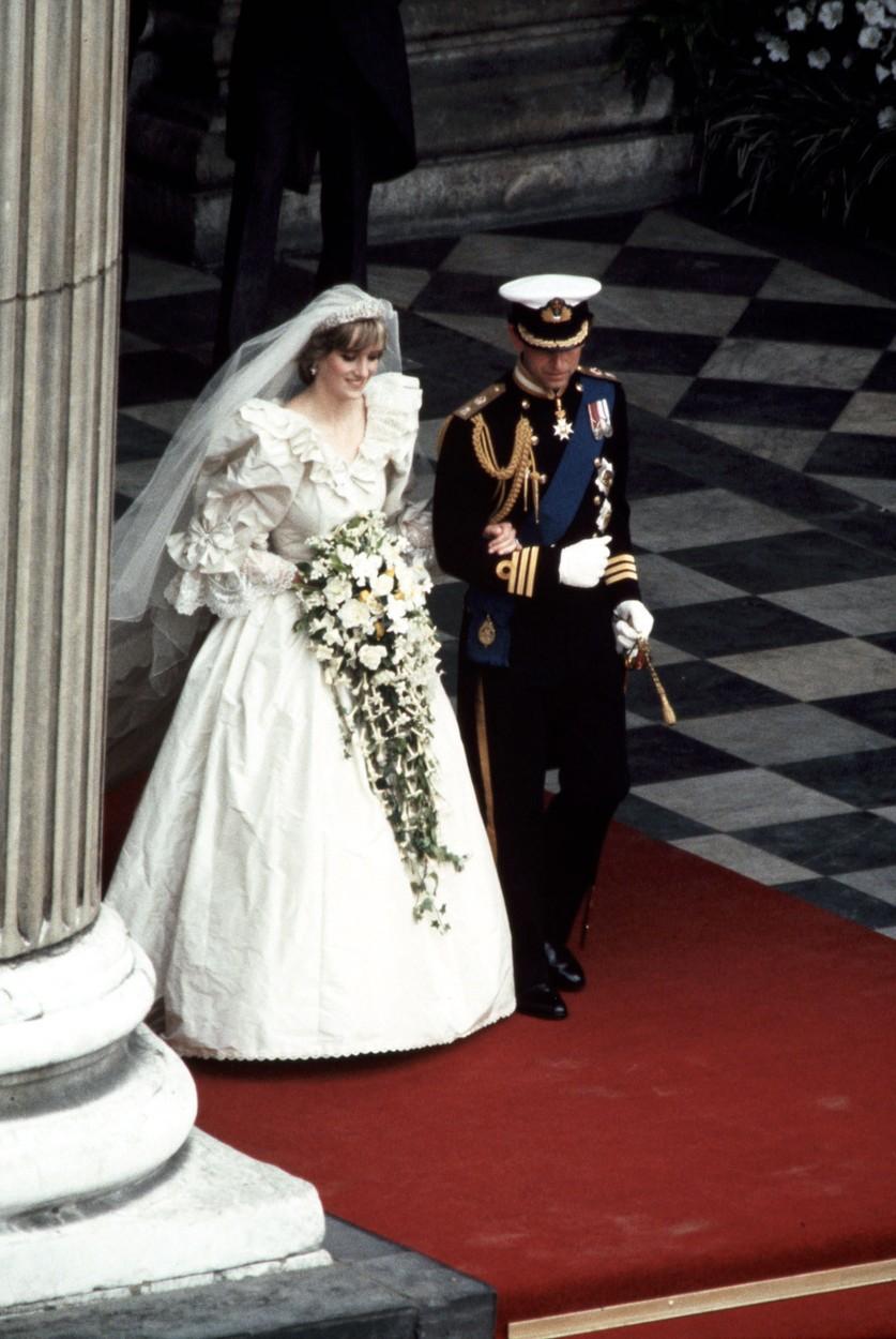 November 28, 2017 - London, Canada - LONDON, UK - JULY 29, 1981: Royal Wedding. Photo Of Diana Princess of Wales taken by Ron Bull July 29, 1981., Image: 356331150, License: Rights-managed, Restrictions: , Model Release: no, Credit line: Profimedia, Zuma Press