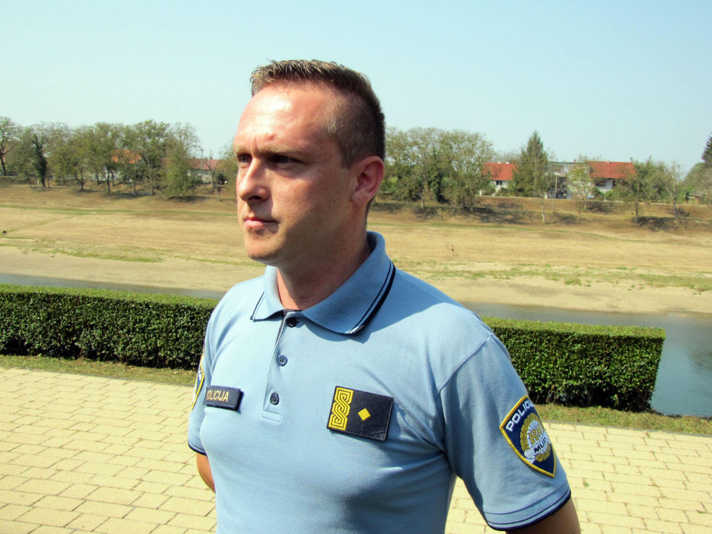 Dario Krčmarčik, glasnogovornik PU Sisčako-moslavačke