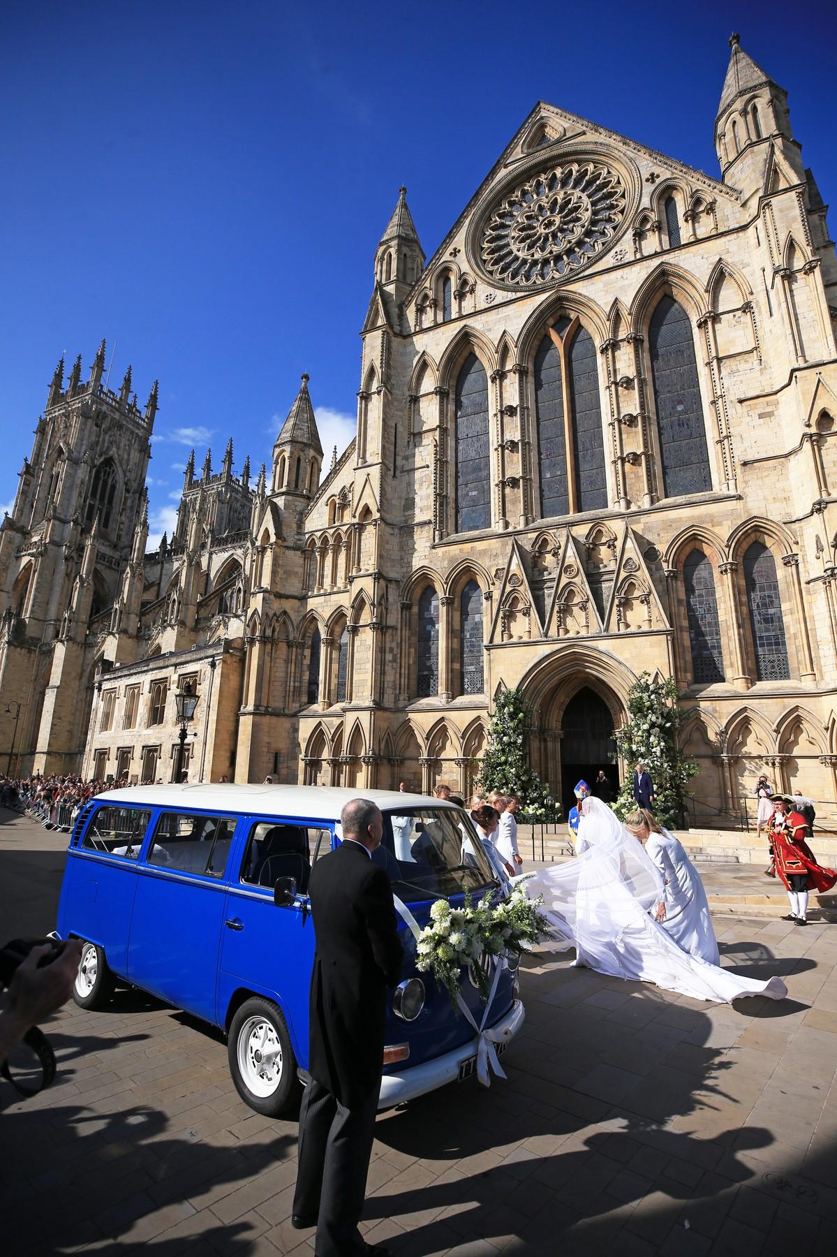 Ellie Goulding arrives at York Minster for her wedding to Caspar Jopling., Image: 468259591, License: Rights-managed, Restrictions: , Model Release: no, Credit line: Profimedia, Press Association