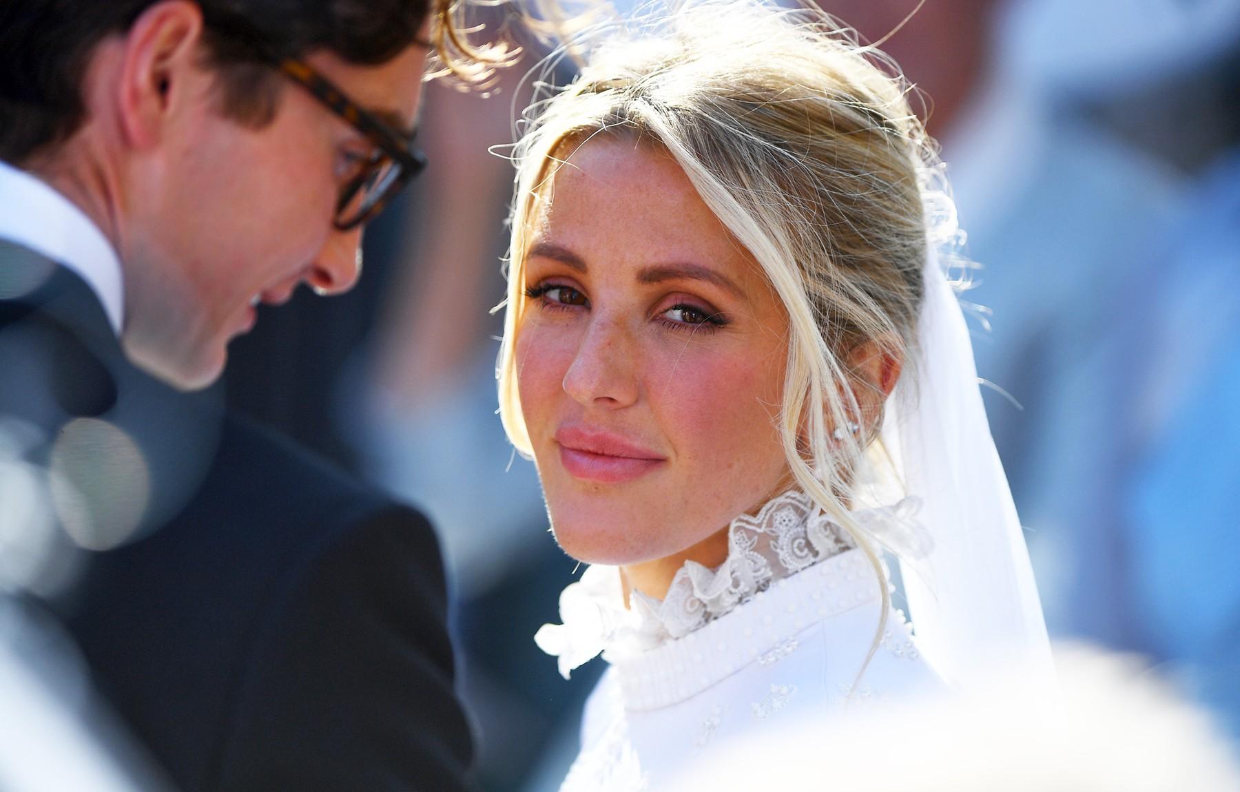 The wedding of singer Ellie Goulding to Caspar Jopling. York Minister., Image: 468274901, License: Rights-managed, Restrictions: , Model Release: no, Credit line: Profimedia, Press Association