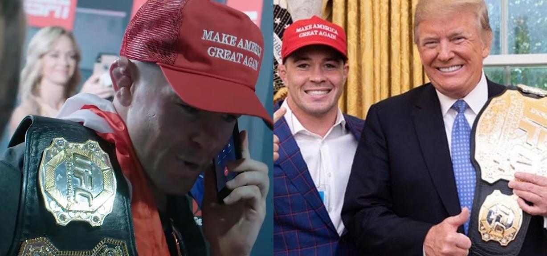 Colby Covington i Donald Trump