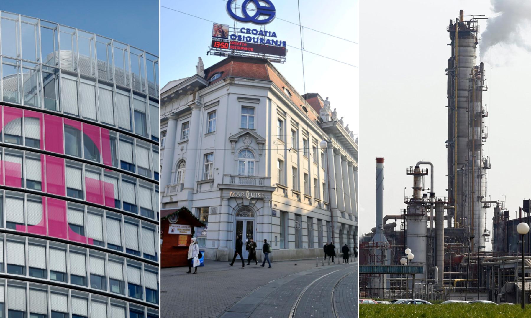 Zgrada Hrvatskog Telekoma/ Zgrada Croatia osiguranja/ Petrokemija