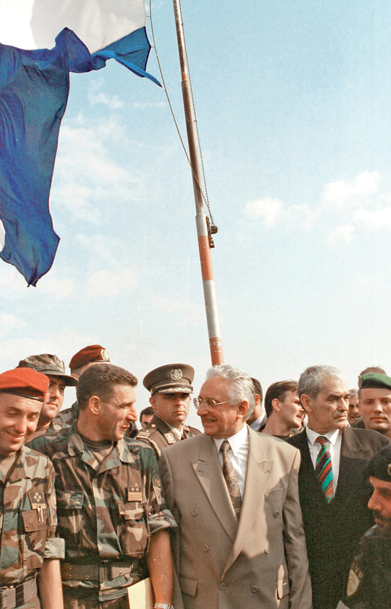 Oslobođeni Knin - general Ante Gotovina, Franjo Tuđman i Gojko Šušak