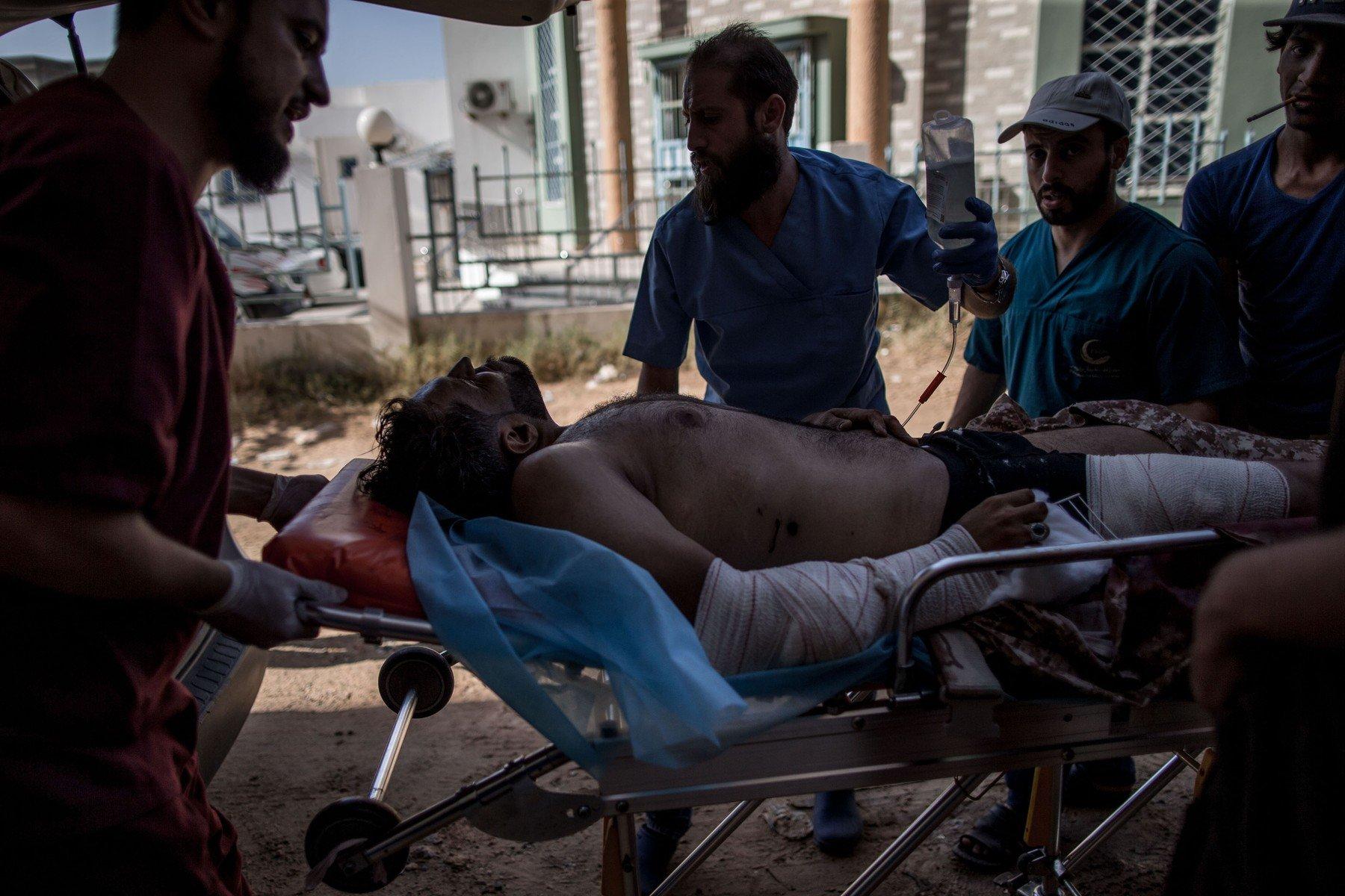 Ilustracija: Napad na Tripoli, Libija