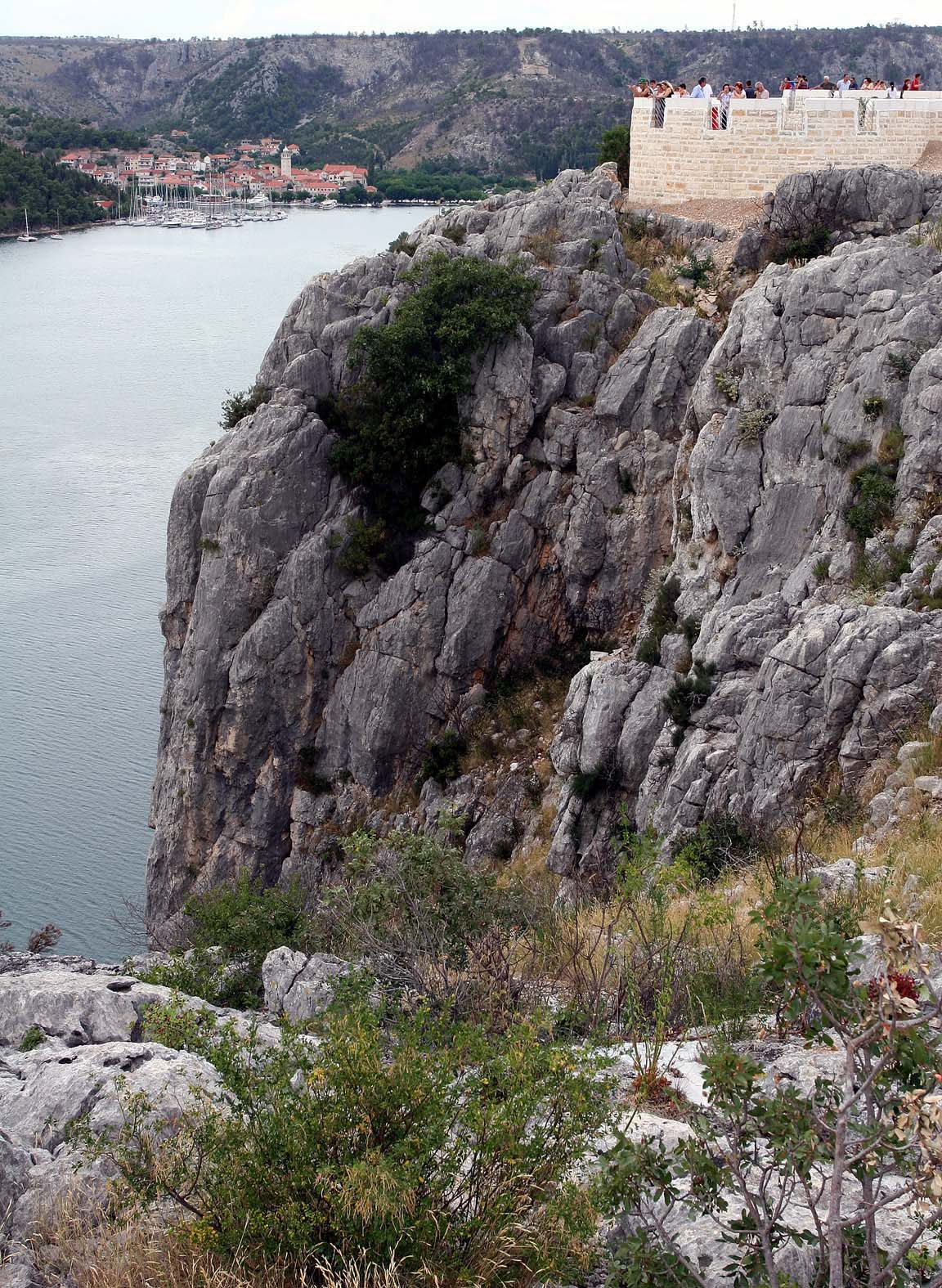 SIBENIK, 120507 -POK-  Na slici: Odmoriste Krka je bez konkurencije najljepse i najatraktivnije odmorisate na hrvatskim i europskim autocestama. Foto: Stanko Feric  -pok-