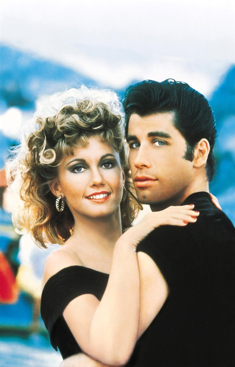 GREASE (1978) - JOHN TRAVOLTA - OLIVIA NEWTON-JOHN., Image: 137052314, License: Rights-managed, Restrictions: Editorial use only. No merchandising or book covers. This is a publicly distributed handout. Access rights only, no license of copyright provided., Model Release: no, Credit line: Profimedia, Album