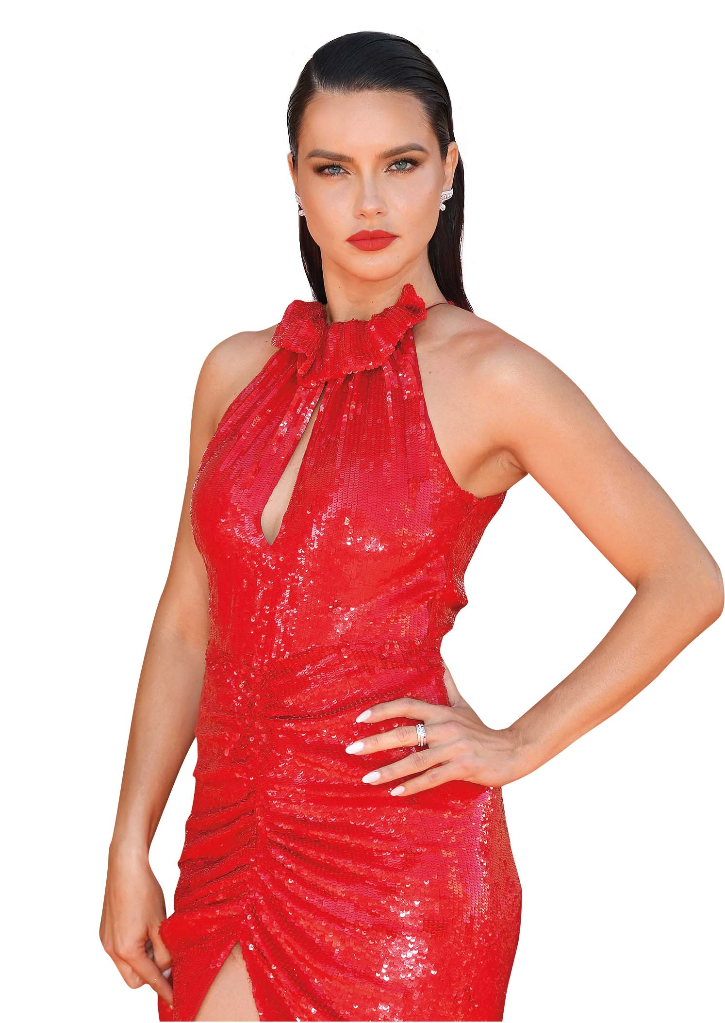 HOLLYWOOD, CALIFORNIA - JULY 22:  Adriana Lima attends Sony Pictures'