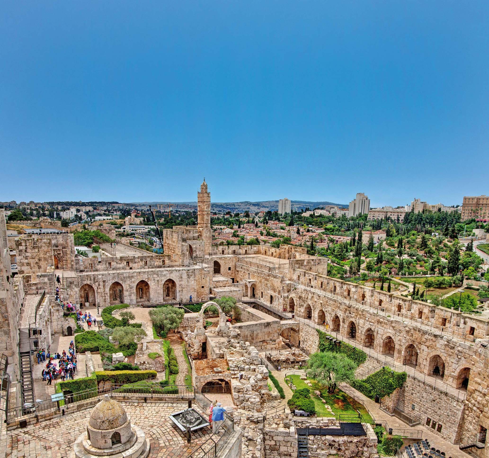 Davidova kula i ostaci Staroga grada danas su u sklopu Muzeja povijesti Izraela