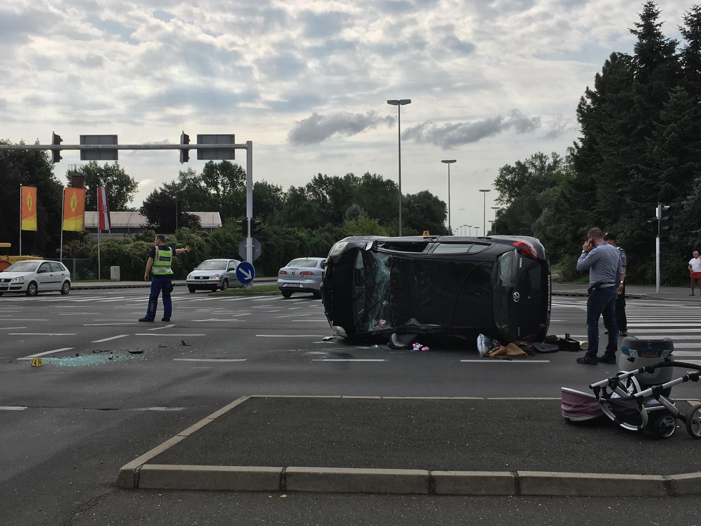 Prometna nesreća u Varaždinu