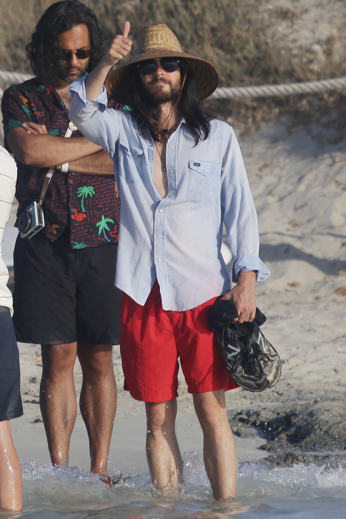 Krajem srpnja Jared Leto plovio je obalom Španjolske