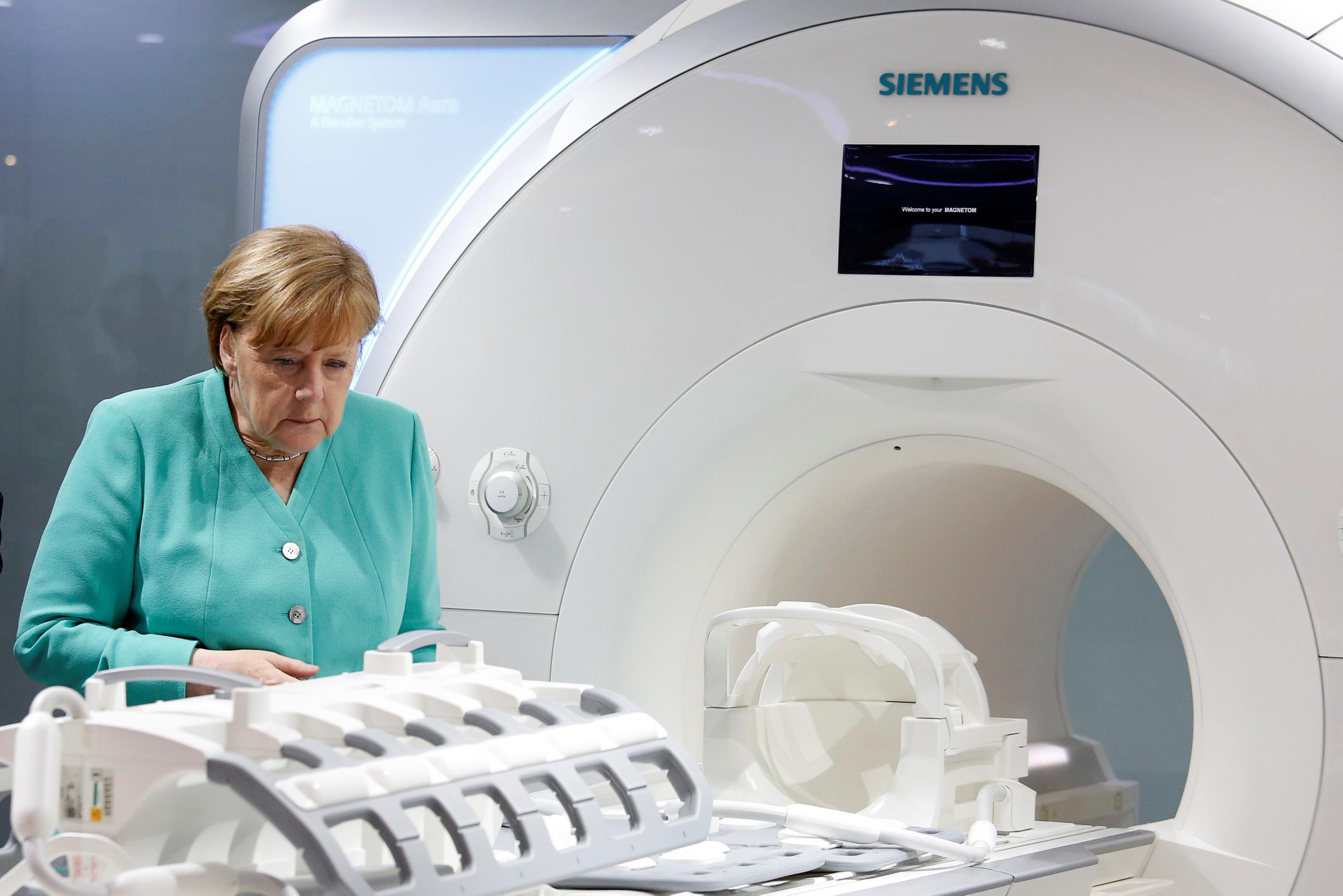 Angela Merkel u posjetu Siemens Healthineersu
